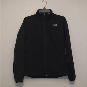 Women's Black The North Face Full-Zip Jacket
